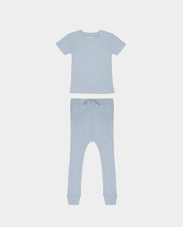 LA PAZ PAJAMAS - BLUE GREY