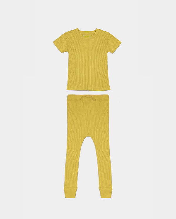 LA PAZ PAJAMAS - SUNSHINE YELLOW