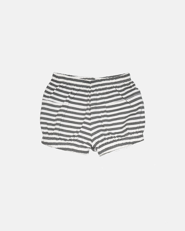 STRIPED BLOOMER SHORTS