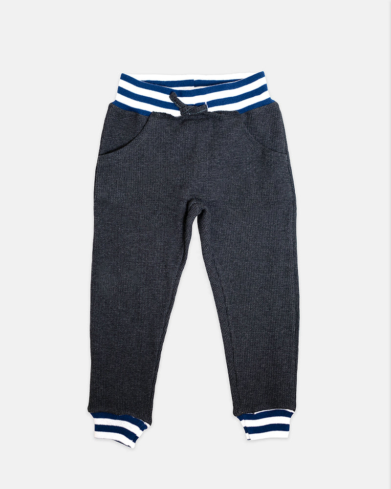 THERMAL JOGGER - DARK GREY + NAVY