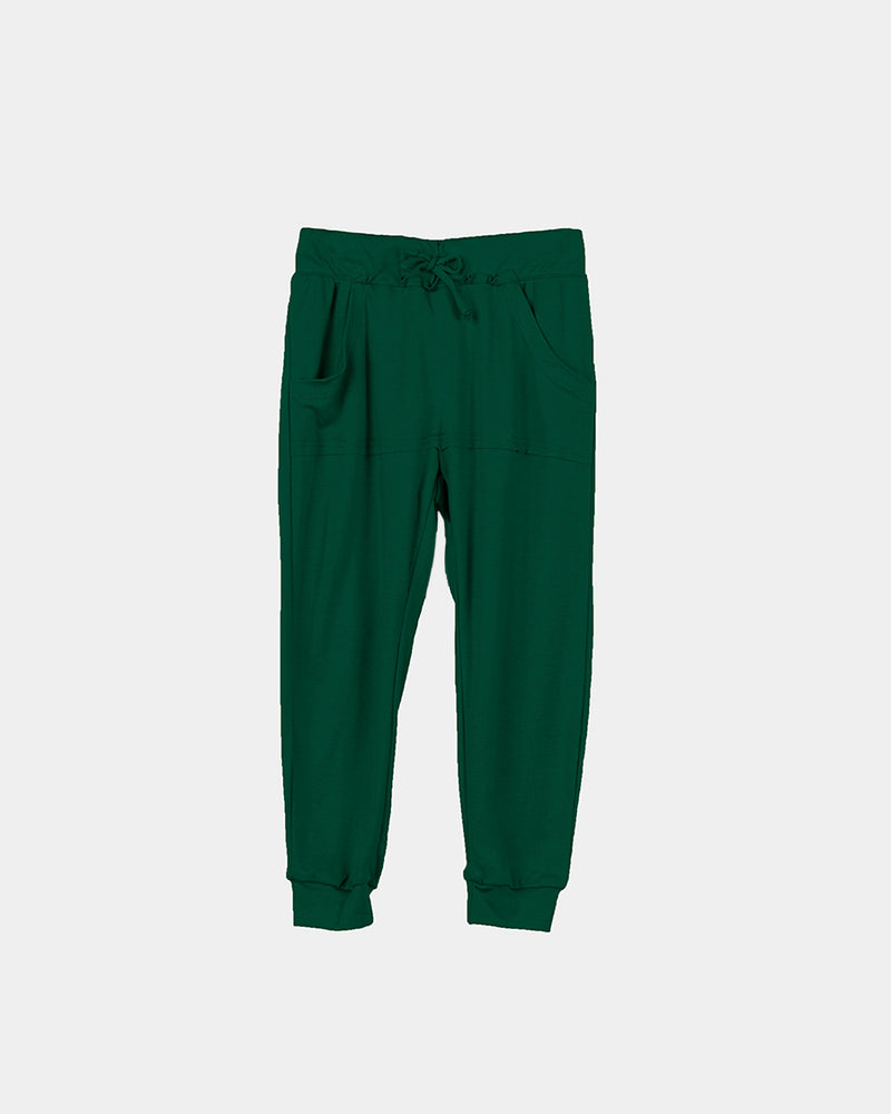 BAMBOO JOGGER - HUNTER GREEN