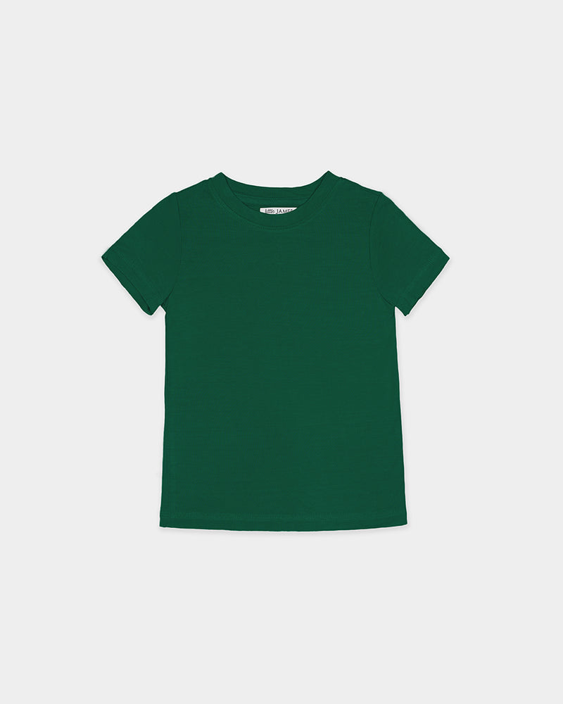 BAMBOO TEE - HUNTER GREEN