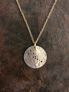 Handcrafted Taurus Constellation Necklace