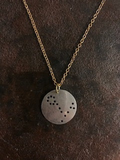 Handcrafted Pisces Constellation Necklace
