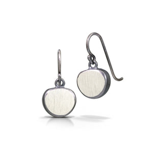 Sterling Pebble Earrings
