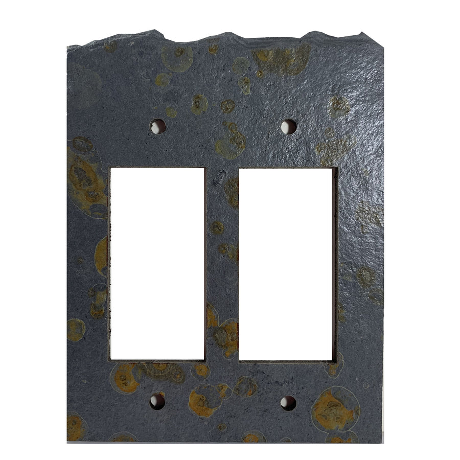 Blank Face Coppers Mine Stone Switch Plate