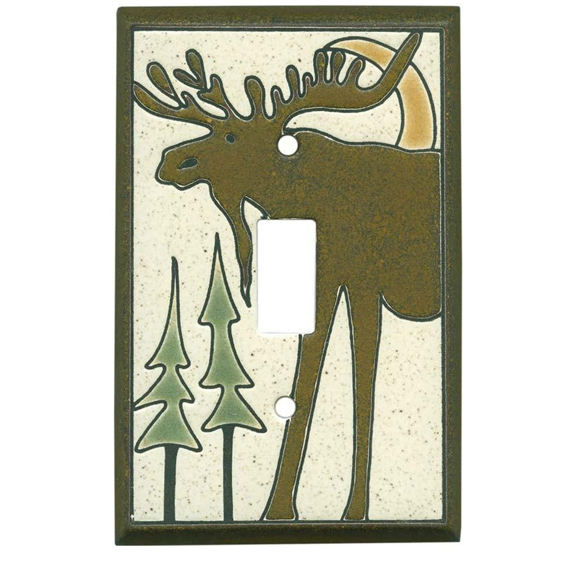 Bull Moose Switch Plate