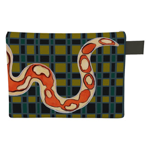 Checkers the Snake Zipper Carry All Bag