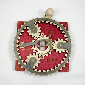 Steampunk Kinetic Switch Plates Circular Style