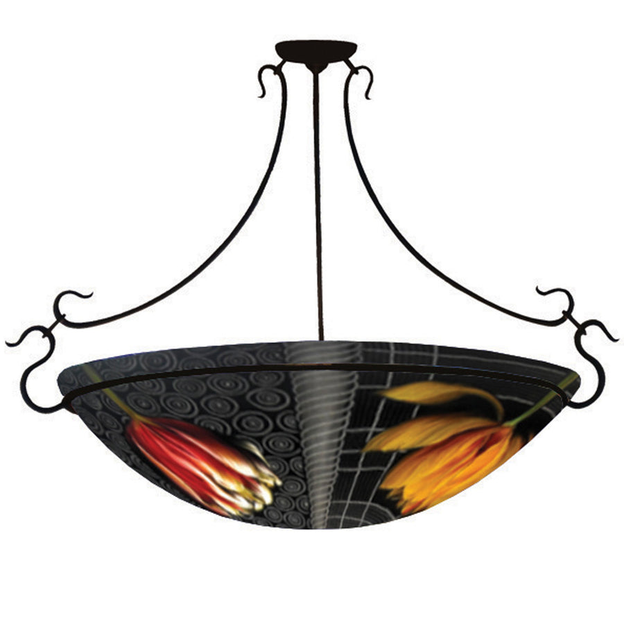 Deco Tulips Chandelier