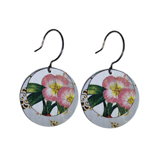 Popli Vintage Cookie Tin Earrings