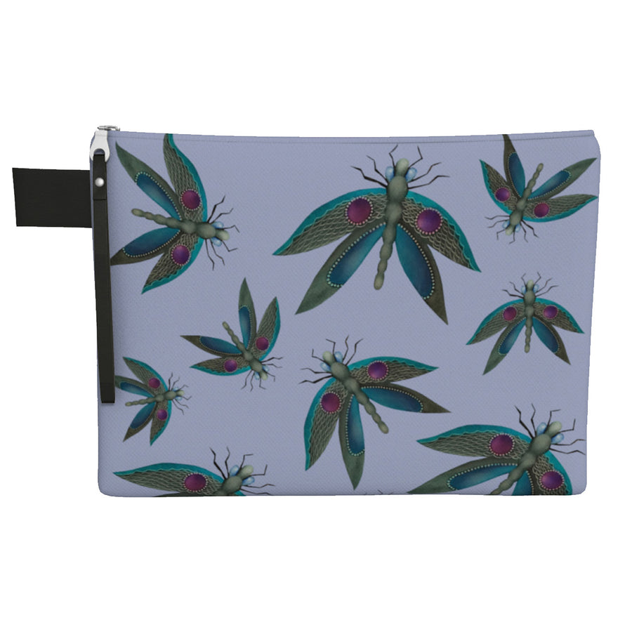 Dragonfly Zipper Carry All Bag