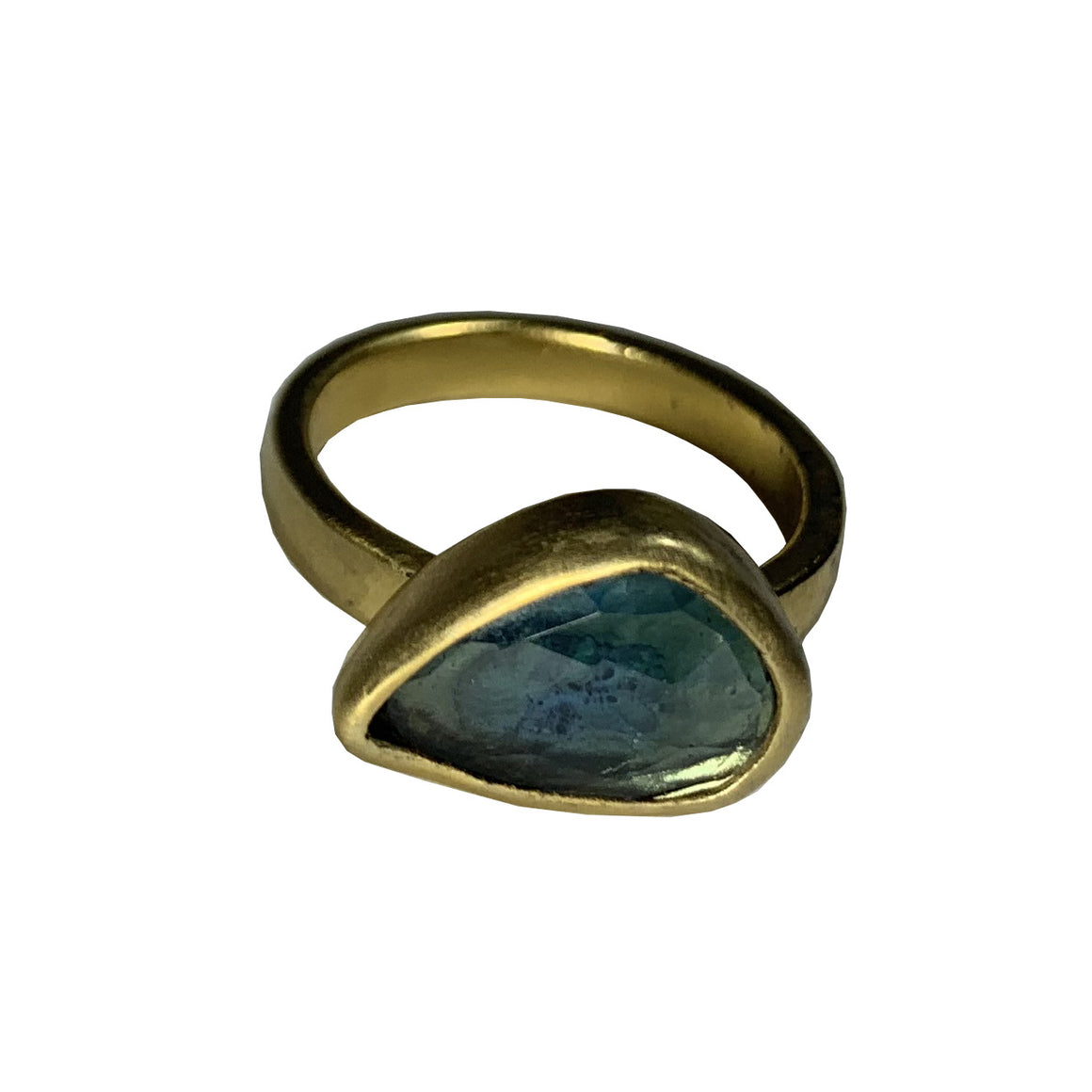 Aurora Ring London Blue Topaz