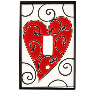 Hearts Switch Plate