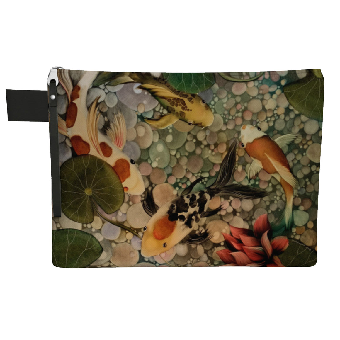 Koi Zipper Carry All Bag