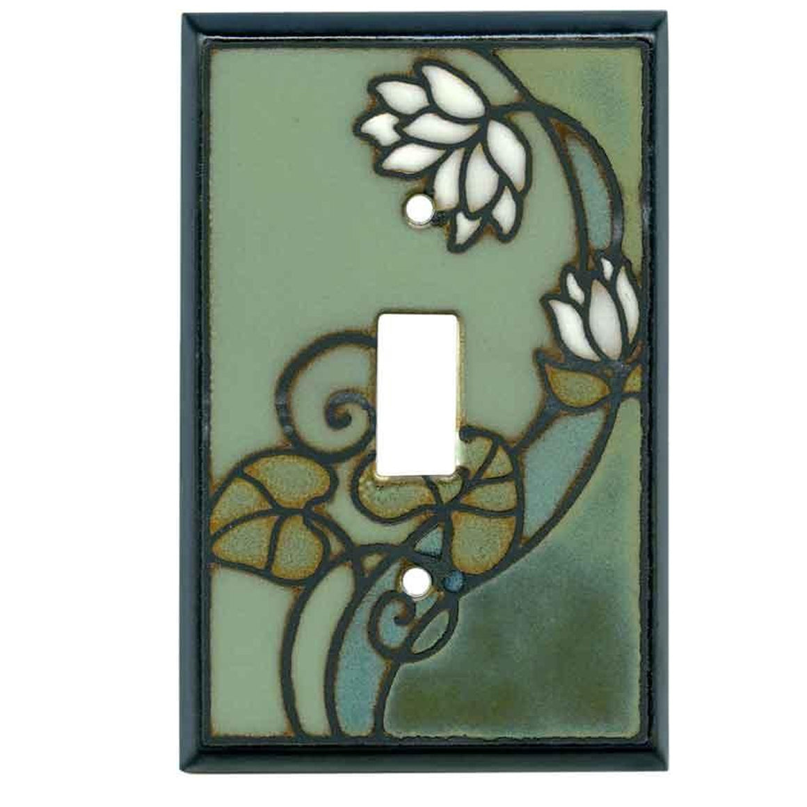 Lily Pad Switch Plate