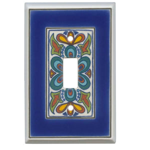 Mediterranean Switch Plate