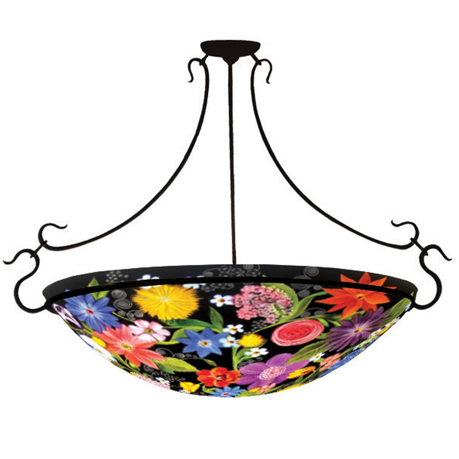 Midnight Garden Chandelier