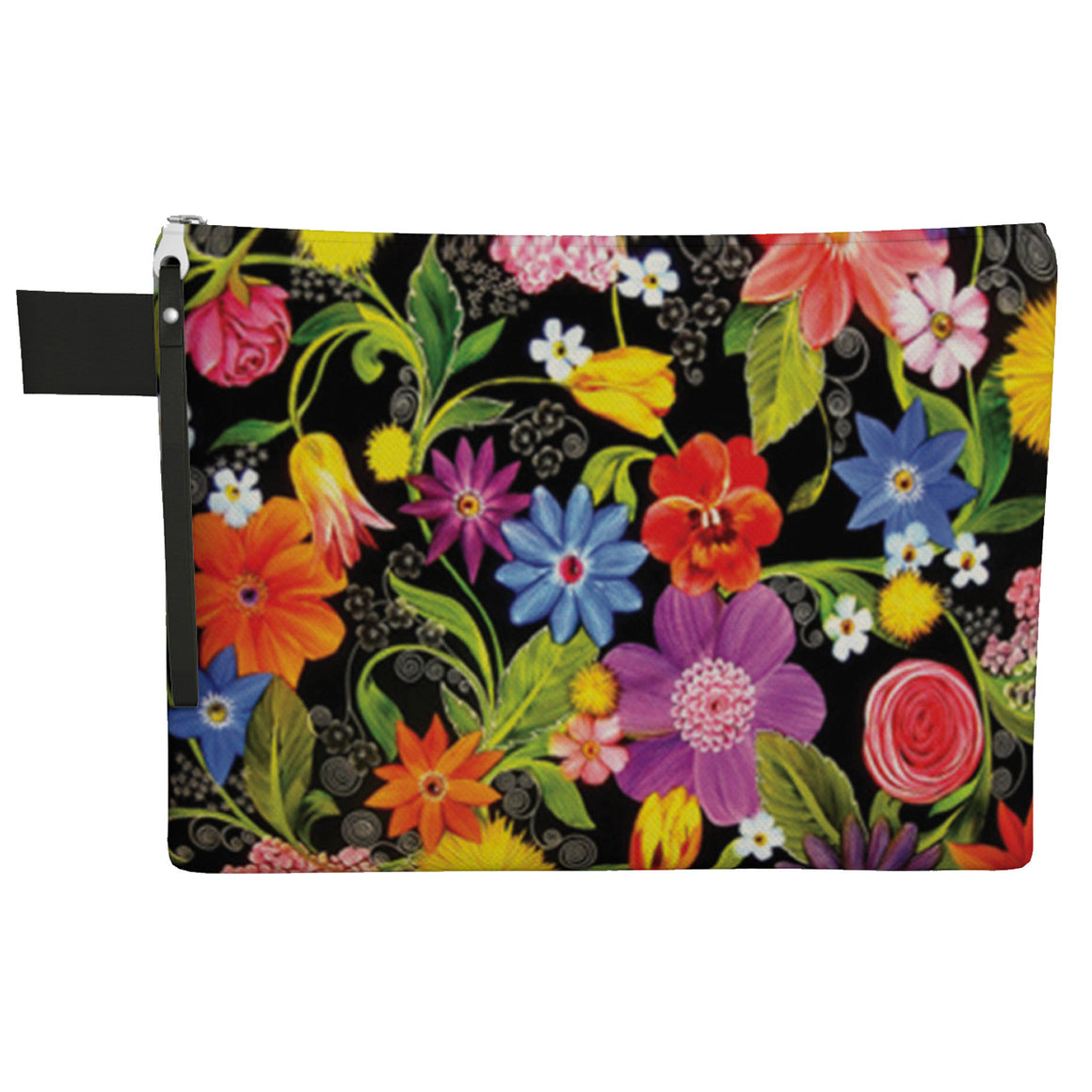 Midnight Garden Zipper Carry All Bag