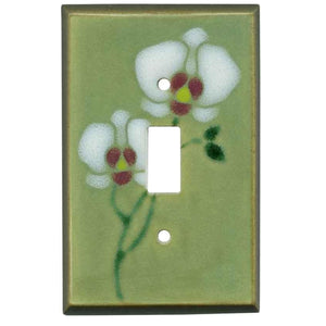 Orchid Switch Plate