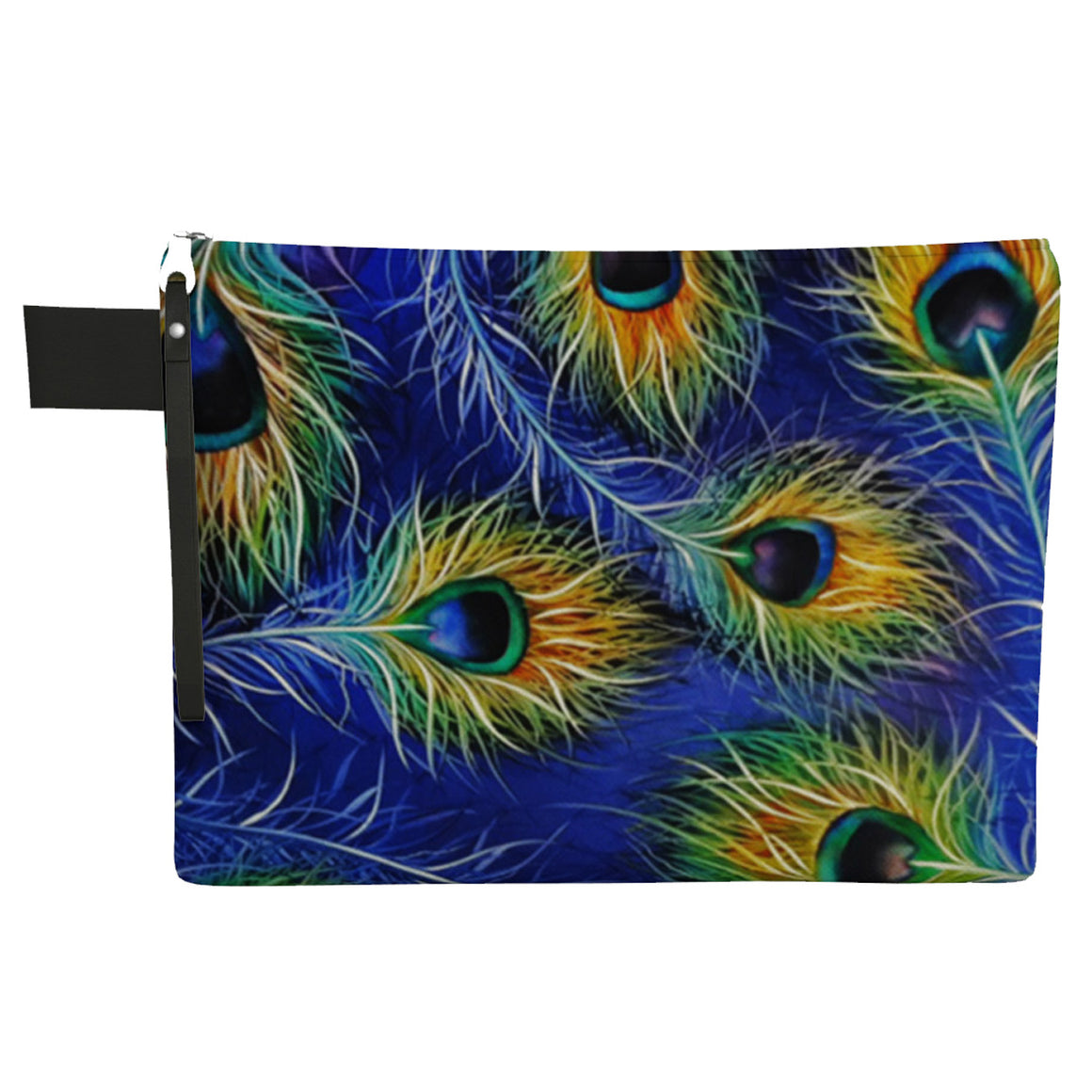 Peacock Zipper Carry All Bag