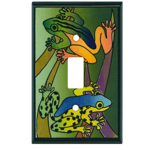 Rainforest Frogs Switch Plate