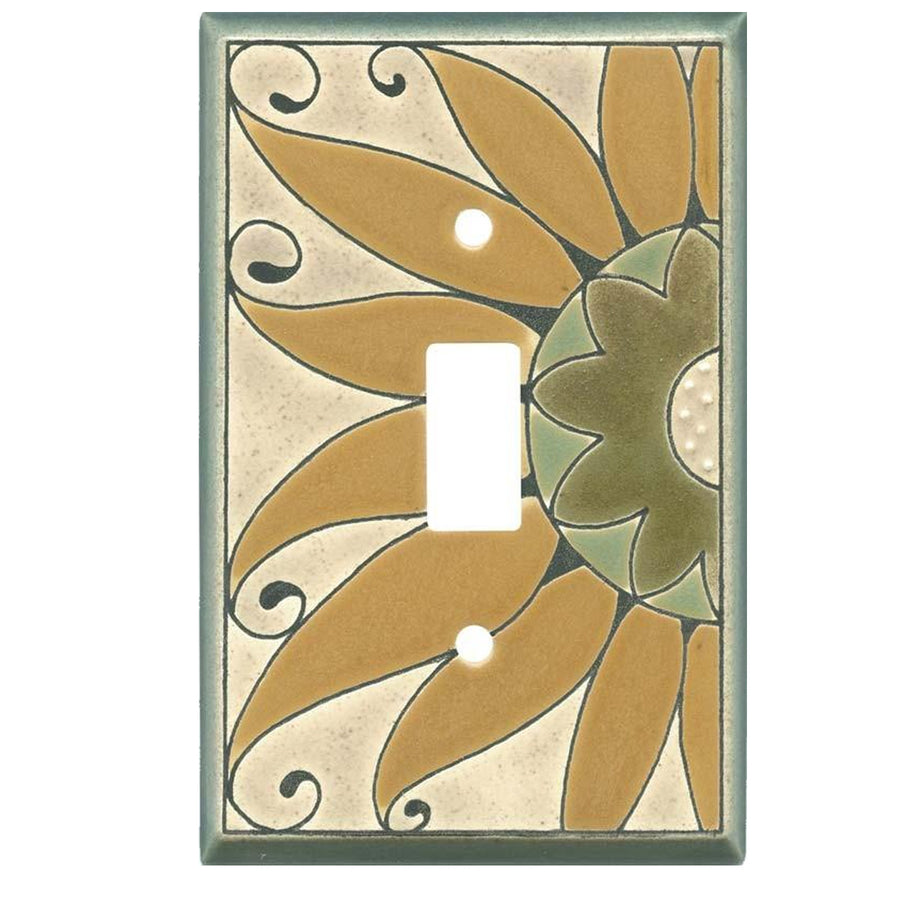 Sunflower Switch Plate