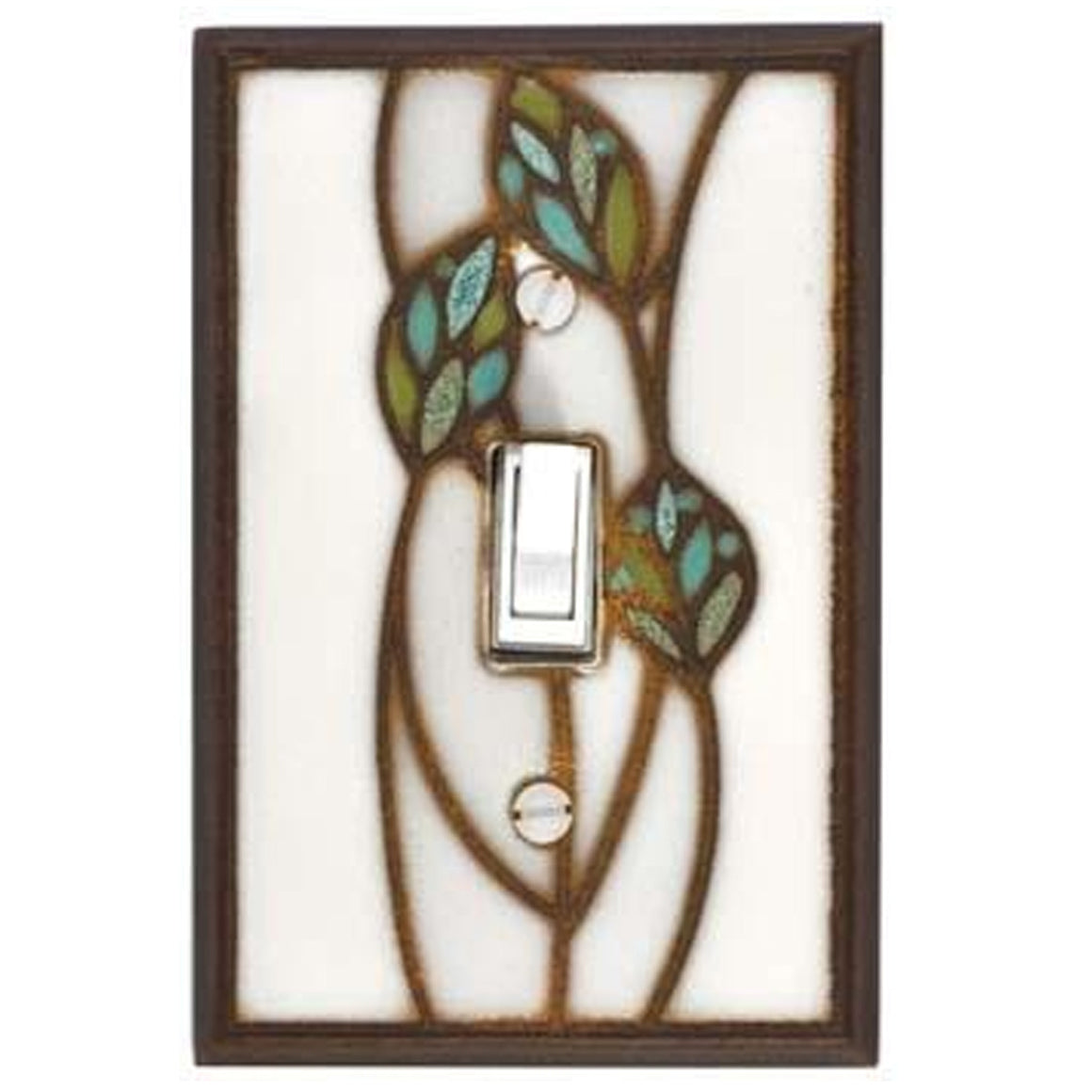 Three Leaves Switch Plate