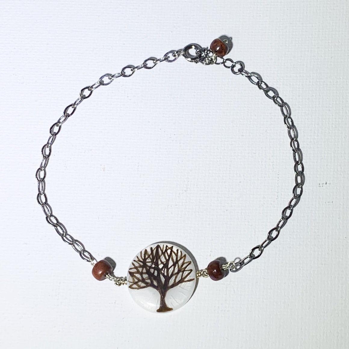 Painted Tree Bracelet/Anklet