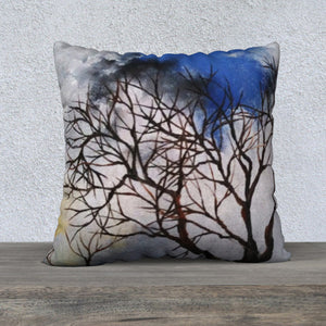Trees & Clouds Pillow