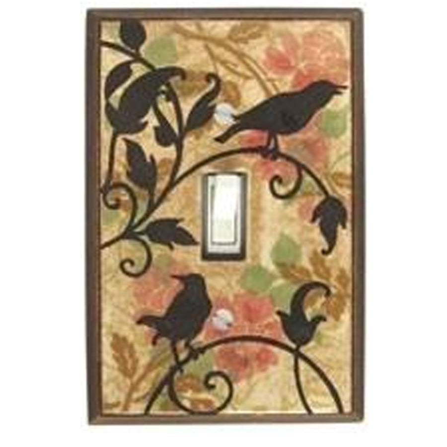 Vintage Songbirds Switch Plate