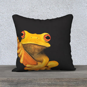 Yellow Treefrog Pillow