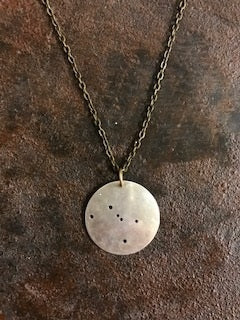 Handcrafted Cancer Constellation Necklace