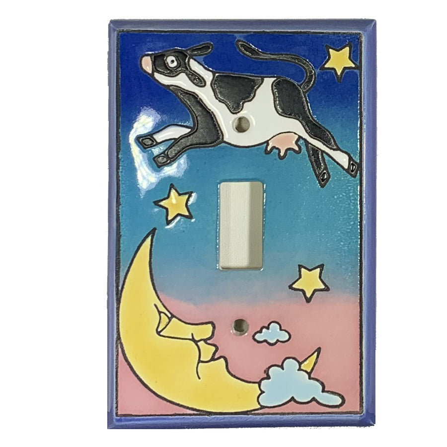Cow Over Moon Switch Plate