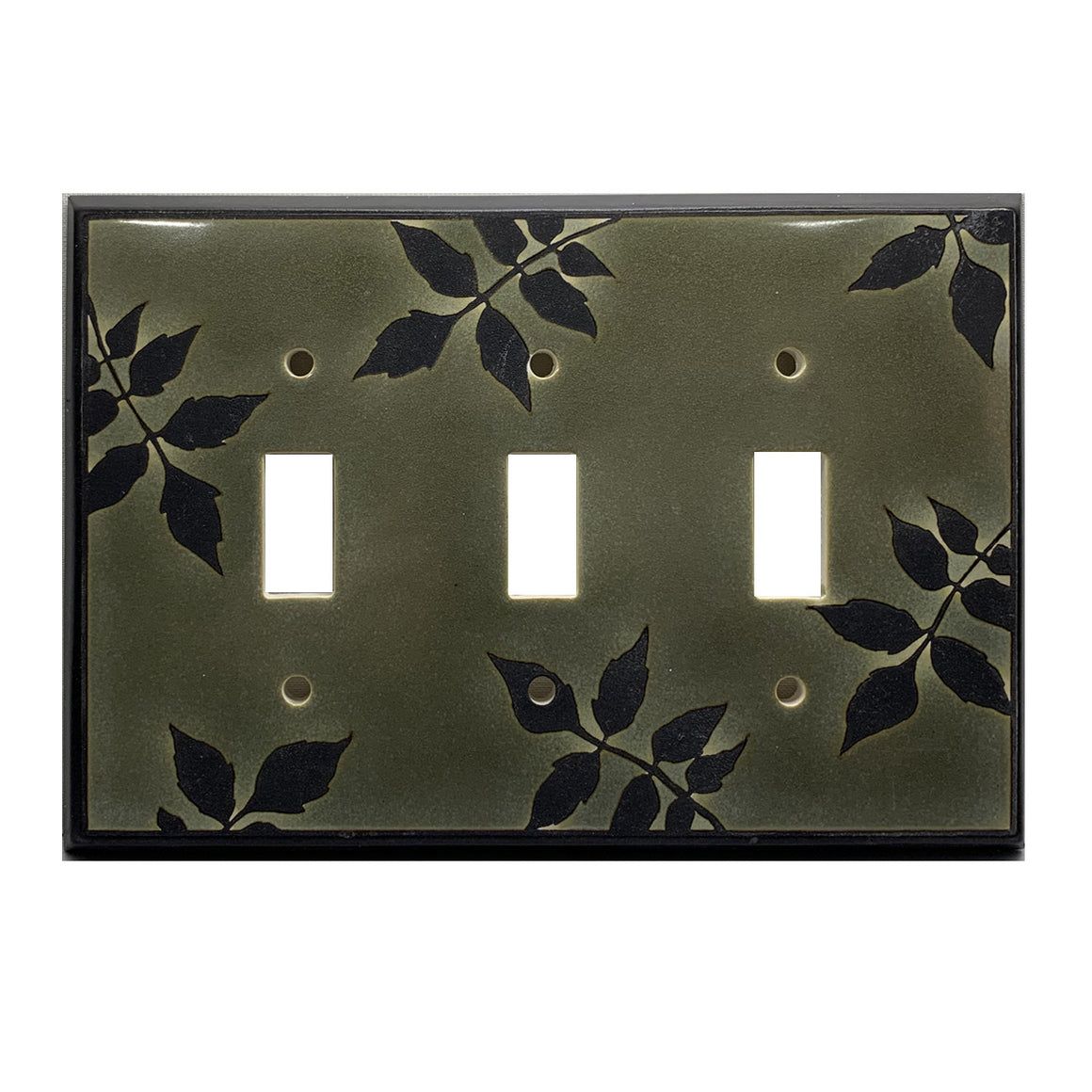 Leaf Silhouette Switch Plate