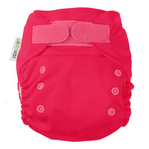 Ecopipo onesize pocket nappy Red Colour
