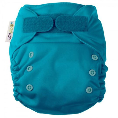 Ecopipo Onesize Pocket Nappy Jade colour