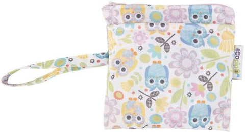 Lubella by Ecopipo Mini Wet bag Pink Owls