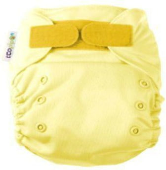 Ecopipo onesize pocket nappy Butter Colour