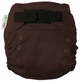 Ecopipo onesize pocket nappy Chocolate