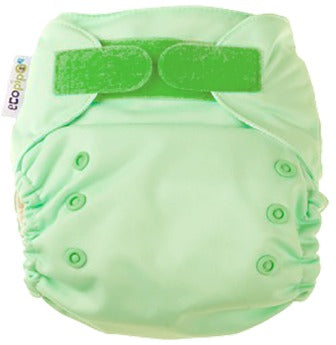 Ecopipo onesize pocket nappy Green Apple