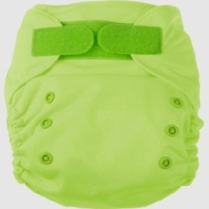 Ecopipo onesize pocket nappy Lime Green Colour