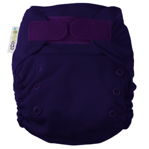 Ecopipo onesize pocket nappy Deep Purple