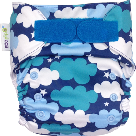 Ecopipo Onesize Pocket Nappy Clouds