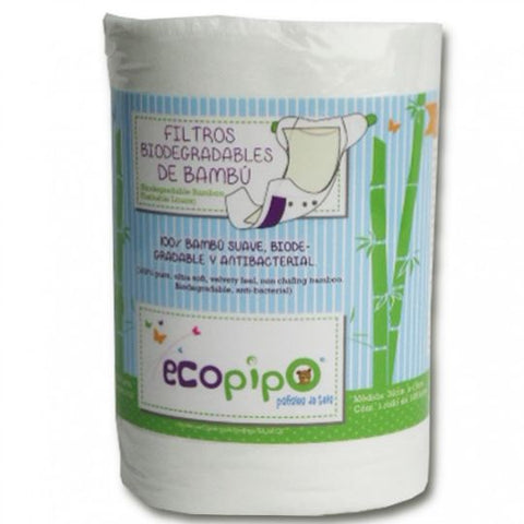 Compostable Bamboo liners (100 per roll)