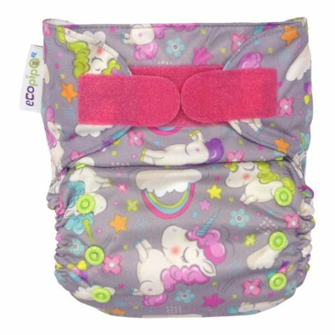 Ecopipo Onesize Pocket Nappy Magic Land print