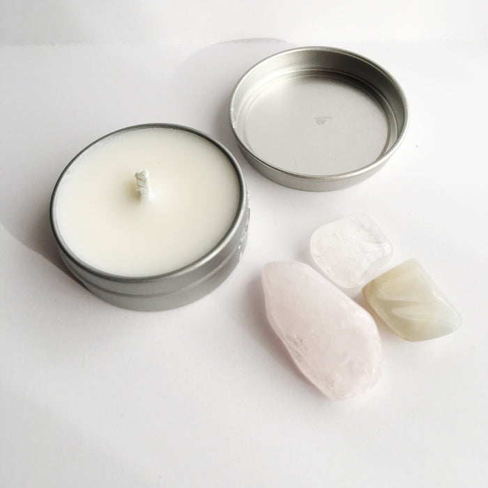 Peace ~ Soy Intention Candle, Essential Oil