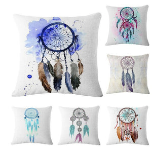 45cm*45cm Square Dream Catcher Cotton Linen
