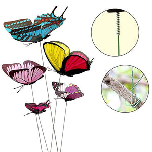 Artificial Butterfly Garden Decorations