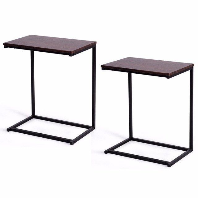 2PCS Laptop Holder End Stand Desk Table